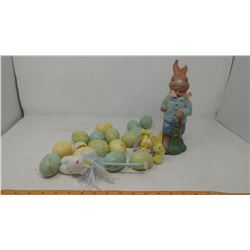 LOT OF EASTER DECORATIONS
