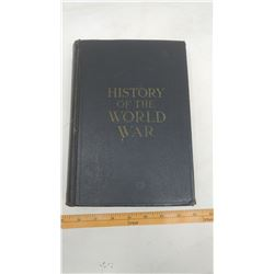 HISTORY OF WWI 1918 BOOK