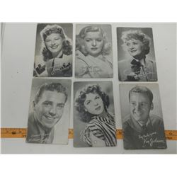 MUTESCOPE HOLLYWOOD CARDS