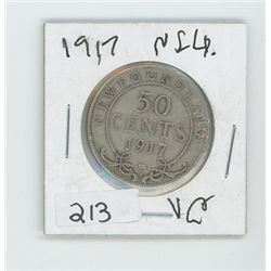 1917NFLD 50 CENT COIN