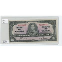 1937 BANK OF CANADA $10.00