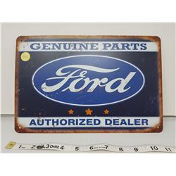 """Ford dealer reproduction sign 11.5 X 8"""""""