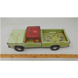NYLINT PRESSED METAL TRUCK (PLAYED WITH CONDITION)