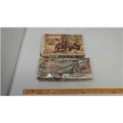 2 MODELS IN BOX - UNOPENED AIRFIX -00 SCALE TANK TRANSPORTER, OPENED MATCHBOX HUMBER MK.II 1-76TH SC