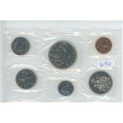 1981 CANADIAN UNCIRCULATED COIN SET