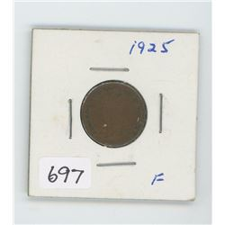 1925 CANADIAN ONE CENT