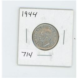 1944 CANADIAN 25 CENT
