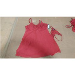 RED BABY DOLL SET (XL)