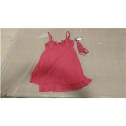 RED BABY DOLL SET (SMALL)