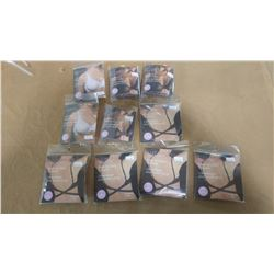 SILICONE & SOFT FOAM NIPPLE COVERS AND FABRIC BRA BACK CONVERTERS