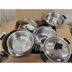S.S. COOKWARE AND MISCELLANEOUS KITHEN WARE