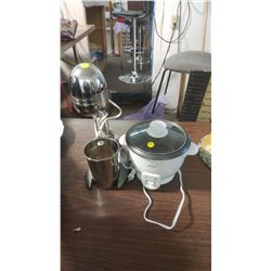 DRINK MIXER AND ELECTRIC FOOD WARMER