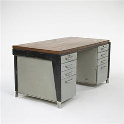 jean prouve bureau metal ateliers jean. Black Bedroom Furniture Sets. Home Design Ideas