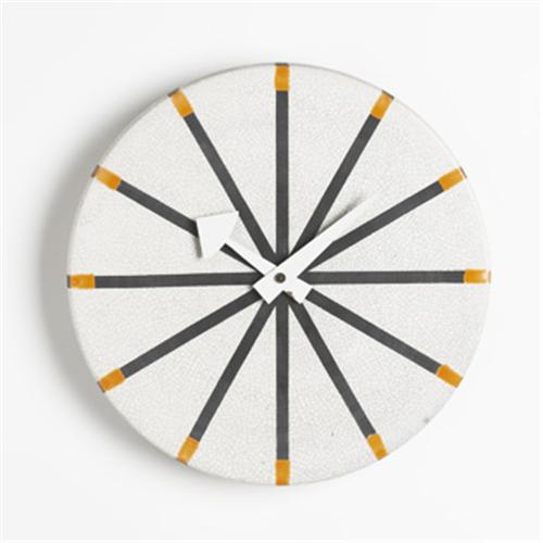 George nelson and associates wall clock for Nelson wall clock