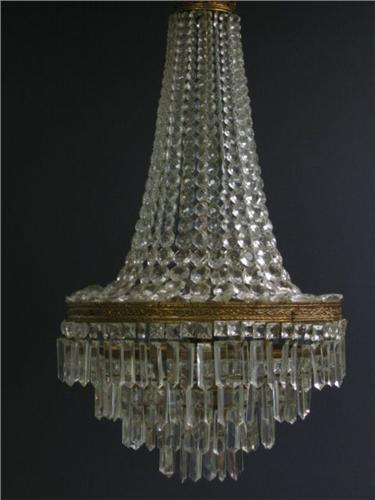 Ca 1900 waterfall chandelier crystal prism 5 tier ca 1900 waterfall chandelier crystal prism 5 tier loading zoom aloadofball Gallery