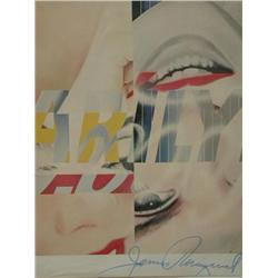 marilyn monroe james rosenquist For a comparison of styles, compare rosenquist's marilyn monroe i (1962,  moma, new york) with similar examples of andy warhol's pop art (1959-73.