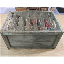CRATE OF ASSORTED BOTTLES