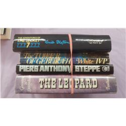 LOT OF FOUR BOOKS - THE LEOPARD, THE ADVENTURES OF THE SECRET 7, ETC.