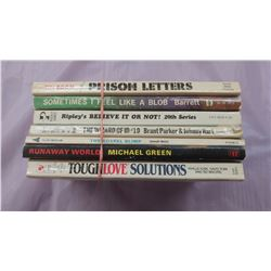 LOT OF SEVEN PAPERBACK BOOKS - TOUGH LOVE SOLUTIONS, RIPLEY'S BELIEVE IT OR NOT, ETC.