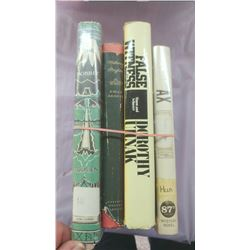 LOT OF FOUR BOOKS - THE HOBBIT, WUTHERING HEIGHTS, ETC.