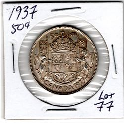 1937 FIFTY CENTS