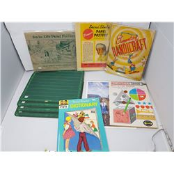 lot of school related items