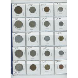 LOT FOREIGN COINS (32)