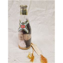 MILLER BOTTLE - TWO PICKLED CANADIAN IN YANKEE BEER