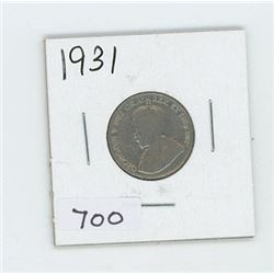 1931 CANADIAN 5 CENT