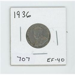 1936 CANADIAN 5 CENT
