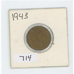 1943 CANADIAN 5 CENT