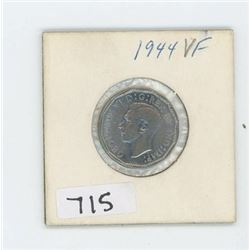1944 CANADIAN 5 CENT