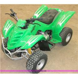APC Edge 90 green ATV