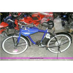 Lightning Cruizer electric bicycle mope