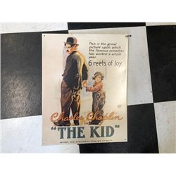 NO RESERVE CHARLIE CHAPLIN COLLECTIBLE SIGN