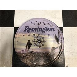 NO RESERVE REMINGTON COUNTRY COMPASS COLLECTIBLE SIGN