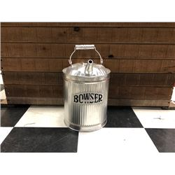 NO RESERVE VINTAGE BOWSER GAS CAN