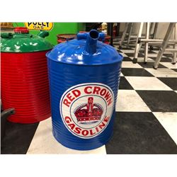 NO RESERVE RED CROWN GAS CAN