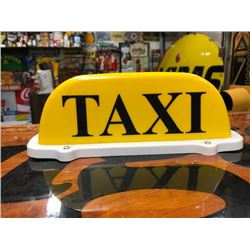 NO RESERVE CUSTOMIZED TAXI CAR TOPPER SIGN