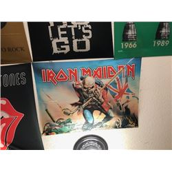 NO RESERVE IRON MAIDEN COLLECTIBLE FLAG