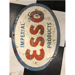 NO RESERVE VINTAGE IMPERIAL ESSO PRODUCTS SIGN