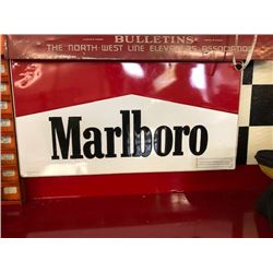 NO RESERVE LARGE COLLECTIBLE MARLBORO SIGN
