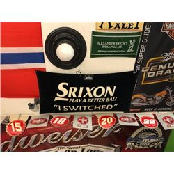 NO RESERVE SRIXON PLAY A BETTER BALL FLAG