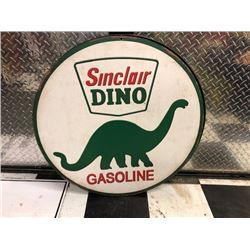 NO RESERVE SINCLAIR DINO GASOLINE COLLECTIBLE SIGN