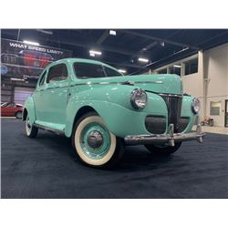 NO RESERVE! 1941 FORD SUPER DELUXE COUPE