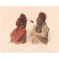Karl Bodmer, handcolored lithograph