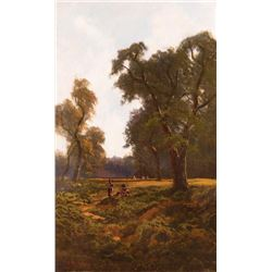 A.M. Wood, oil on canvas