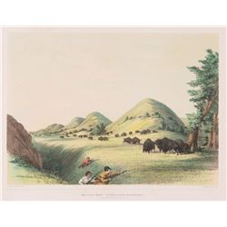 George Catlin, handcolored lithograph