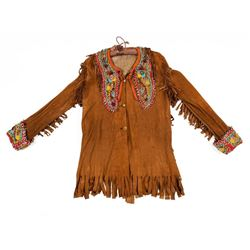 Iroquois Beaded Man's Shirt