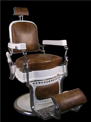 koken barber chair in all great original condition